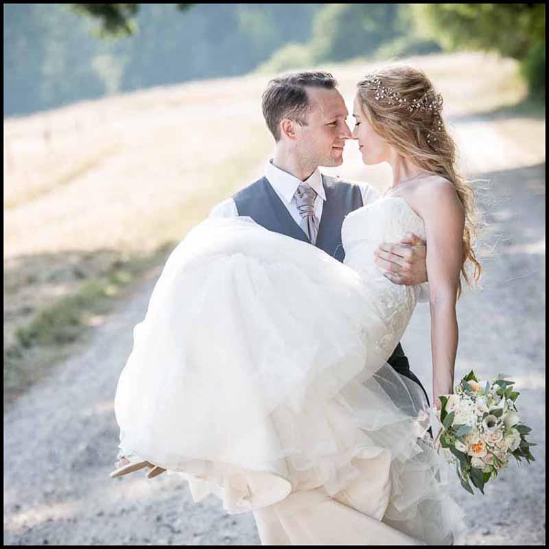 Resultatet er lig flotte bryllupsbilleder