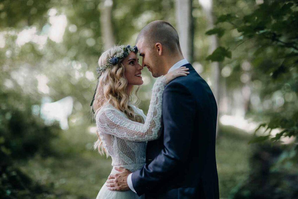 Et godt bryllupsfoto